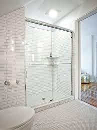 Modern Bathroom Shower Interesting Modern Bathroom Shower Design Spaces With Pebble Tiles