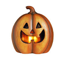 light up jack o lantern shop holiday living pre lit freestanding jack o lantern greeter with