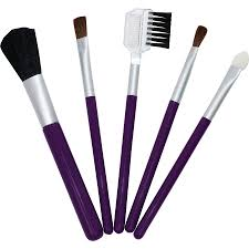 exceptional because you are set 5 piece travel makeup brush set
