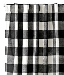 Blue And White Gingham Curtains My Favorite Black And White Curtains Cuckoo4design