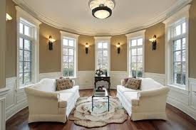 Ivory Leather Loveseat Modern Living Room Design Beige Wall Paint Color Ivory Leather