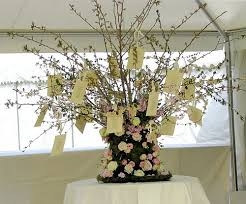 wedding wishing trees wedding wishing tree archives with flowers