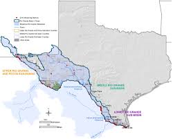 Texas Map Picture Texas Clean Rivers Program Study Area