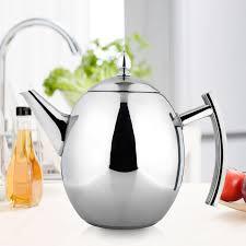 cuisiner avec une bouilloire durable ruban théière café thé bouilloires froid pot d eau chaude