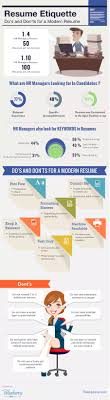 modern resume layout 2015 quick the do s and don ts of the modern resumé infographic