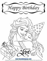 birthday coloring pages boy happy birthday coloring pages disney for boys printable coloring