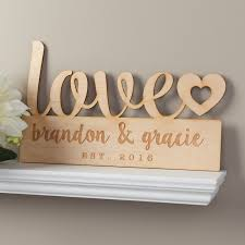 our love personalized wood plaque for the couple wedding our love personalized wood plaque for the couple wedding personalized planet home decor signswooden