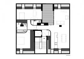 apartment monochrome modern apartment with round edge apartment
