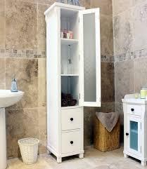Tall Bathroom Storage Cabinets by Tall Bathroom Cabinet White Uk Www Islandbjj Us
