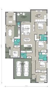 Granny Flats Floor Plans Protea 4 With Granny Flat New Living Homes