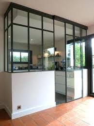 cuisine fenetre atelier fenetre separation cuisine separation de cuisine en verre