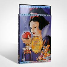 snow white and the seven dwarfs dvd wholesale with slipcover