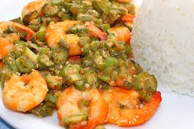 cuisiner le gombo recette de la semaine crevettes aux gombos