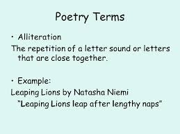 resume layouts exles of alliteration in the raven poetry unit ppt video online download