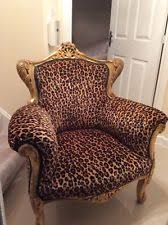 leopard print furniture ebay