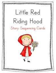 red riding hood sequencing cards wonderful kinder tpt