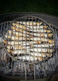 cuisiner les sardines sardines au barbecue grillées au sel recettes de cuisine
