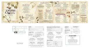 brookside family restaurant menu berks mont menus