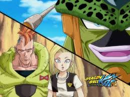 android 18 and cell c c z cell on the verge of defeat krillin