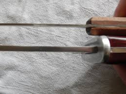 thoughts from frank and fern kitchen knives what use the two old hickory big knives some folk use for survival type included video give you idea also picture showing