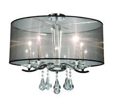 Flush Mount Chandeliers by Flush Mount Chandelier With Shade 143 Outstanding For Kichler Semi