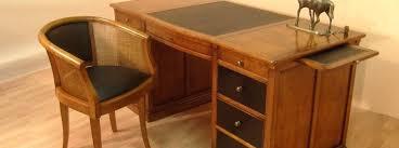 bureau bois massif occasion bureau bois et fer mobilier bureau occasion bureau bois fer forge