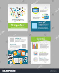 e brochure design templates royalty free set of flyer brochure design templates 300228641