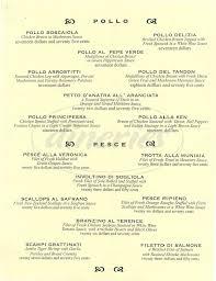 tango d u0027amore ristorante menu northridge dineries