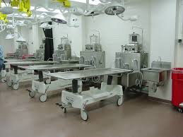 stainless steel embalming station mortech manufacturing company