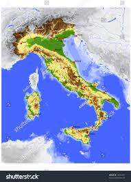 Map Of Florence Italy Topographical Map Of Italy You Can See A Map Of Many Places On