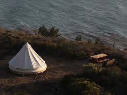 treebones treebones big sur resort ocean view yurt camping and