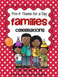 famiiies theme activities and printables for preschool and