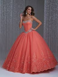 coral quince dress quinceañera dresses something new boutique