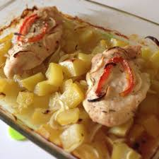 cuisiner des blancs de poulet moelleux escalope de poulet au four et ses pommes de terre mon palais des