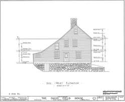 Saltbox Colonial Historical Home Historic Saltbox Colonial Saved From Destruction