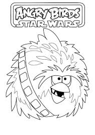 kids fun 7 coloring pages angry birds star wars