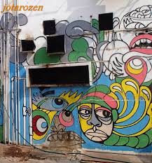 footsteps jotaro s travels gallery street art shah alam colourful eyes looks like something that escaped from alice in wonderland
