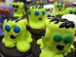marshmallow mummy u0026 monster cupcakes matthew harris flickr