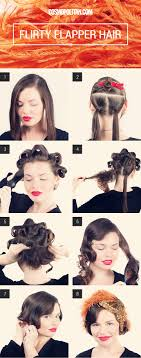 roaring 20 s long hairstyles halloween how to turning long hair into a flapper bob flapper