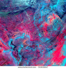 bright artistic splashes abstract painting color stock