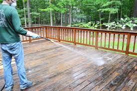 Wood Stains Deck Stains Finishes From World Of Stains by How To Strip U0026 Clean A Deck For Stain Young House Love