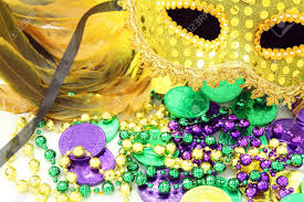 doubloon mardi gras mardi gras mask with and doubloons stock photo picture and