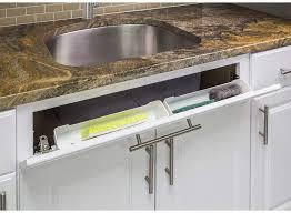kitchen sink cabinet sponge holder white 14 kitchen sink cabinet front tip out tray tilt out sponge holder replace