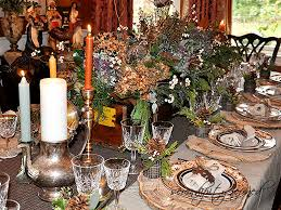 vintage thanksgiving dinnerware fall thanksgiving tablescape vintage wood box with dried flowers