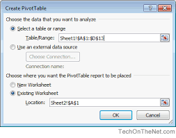 how to set up a pivot table ms excel 2010 how to create a pivot table