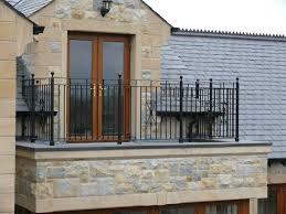 exteriors wonderful wrought iron balcony railing fence exposed