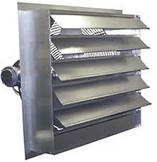 36 inch exhaust fan canarm ax36 7 36 aluminum shutter mounted exhaust fan 12000 cfm