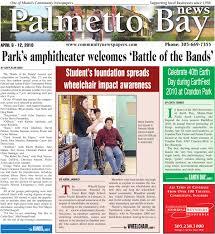 palmetto bay news april 6 2010 online printed edition local