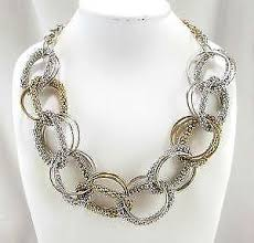 ebay necklace silver images Fashion necklace ebay JPG
