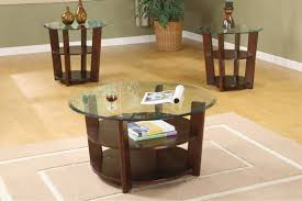table magnificent modern end tables glass top three tier round